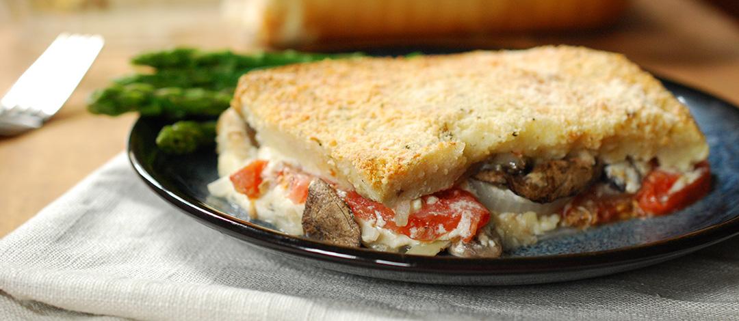 Italian Bread Casserole