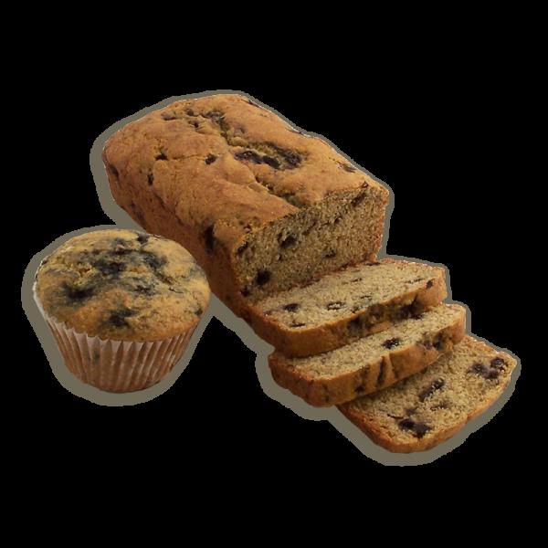 Blueberry Corn Dessert Bread