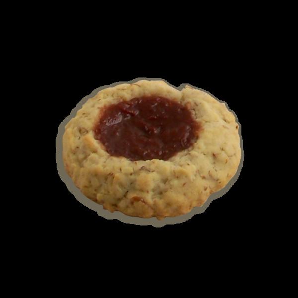 Almond Strawberry Cookie