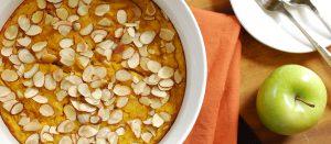 Curried Acorn Squash Bread Pudding