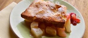 Pear Cranberry Cobbler