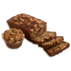 Banana Chocolate Chip Walnut Dessert Bread