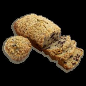 Blueberry Dessert Bread