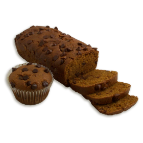 Pumpkin Chocolate Chip Dessert Bread