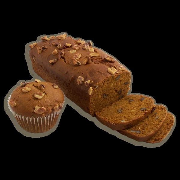 Pumpkin Walnut Dessert Bread