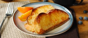 Baked French Toast with Cardamom and Marmalade