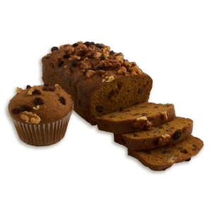 Pumpkin Raisin Walnut Dessert Bread
