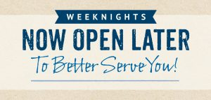 New Hours Oro Valley