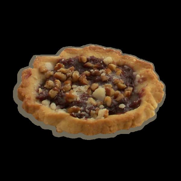 Cherry Pecan Shortbread Tart
