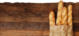 French Baguettes in Bag